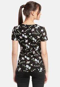 Vive Maria - PARADISE  - Print T-shirt - schwarz allover - 1