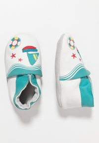 Robeez - LIFEGUARD - First shoes - blanc/turquoise - 2
