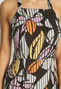 O'Neill - CLARISSE STRAPPY DRESS - Doplňky na pláž - green/white/pink or purple - 5