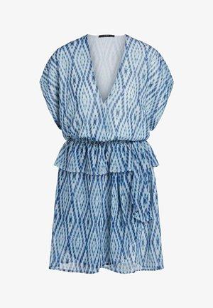 Day dress - white blue