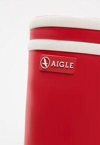 Aigle - MALOUINE - Wellies - rouge - 6