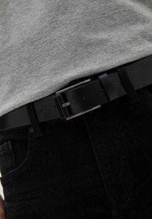 MIT STREIFEN - Belt business - black