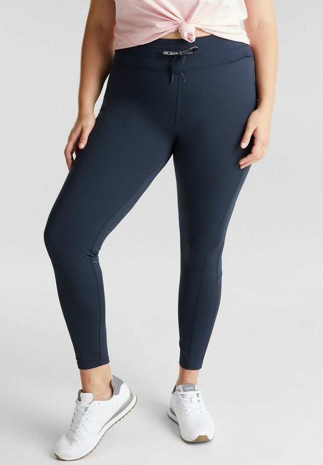 CURVY - Leggings - navy