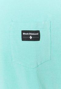 Black Diamond - POCKET LABEL TEE - T-paita - minted - 2