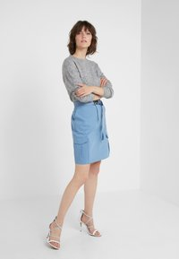 Bruuns Bazaar - HOLLY JOHANNE  - Svetr - light grey melange - 1