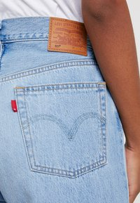 Levi's® - 501® CROP - Jeans straight leg - montgomery patched - 5