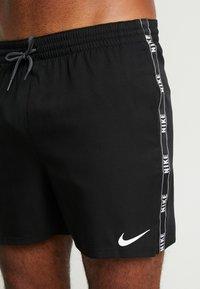Nike Performance - VOLLEY SHORT LOGO TAPE - Shorts da mare - black - 3