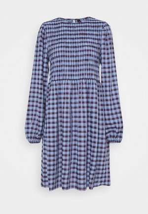 YASBLUMA SMOCK DRESS - Robe d'été - country blue