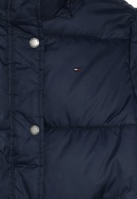 Tommy Hilfiger - RECYCLED EXTRA LONG PUFFER - Winter coat - blue - 4