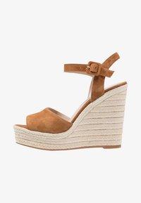 ALDO - YBELANI - High heeled sandals - light brown - 1