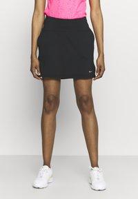 Nike Golf - VICTORY SOLID SKIRT - Sports skirt - black/dust - 0