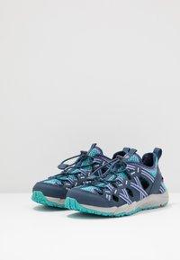 Merrell - HYDRO CHOPROCK - Walking sandals - navy/turquoise - 3