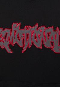 Weekday - RICHARD PRINTED HOODIE UNISEX - Hoodie - black - 2