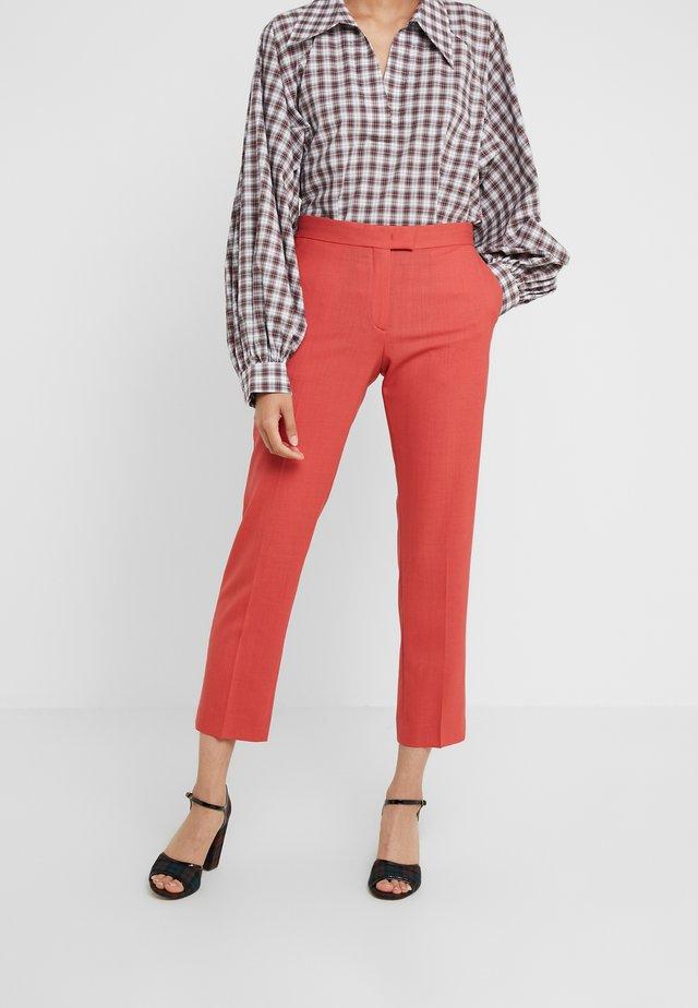 Pantalon classique - coral