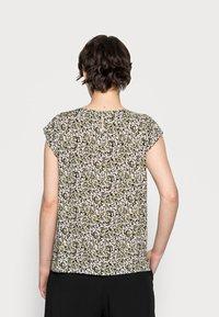 Opus - FANNIE ABSTRACT - Print T-shirt - black - 2