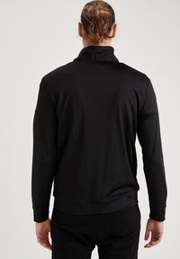 DeFacto Fit - Felpa aperta - black - 2