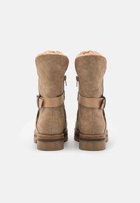 Anna Field - Platform ankle boots - beige - 3