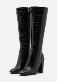 RAID - CELENI - Kozačky na vysokém podpatku - black - 2