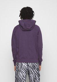 Nike Sportswear - Zip-up hoodie - dark raisin/white - 2