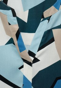 Cecil - BLUSE MIT GRAFIK-PRINT - Blouse - blue - 4