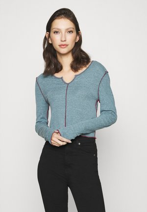 BABYLOCK CUTOUT - Long sleeved top - blue coral