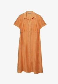Violeta by Mango - Skjortklänning - orange - 5