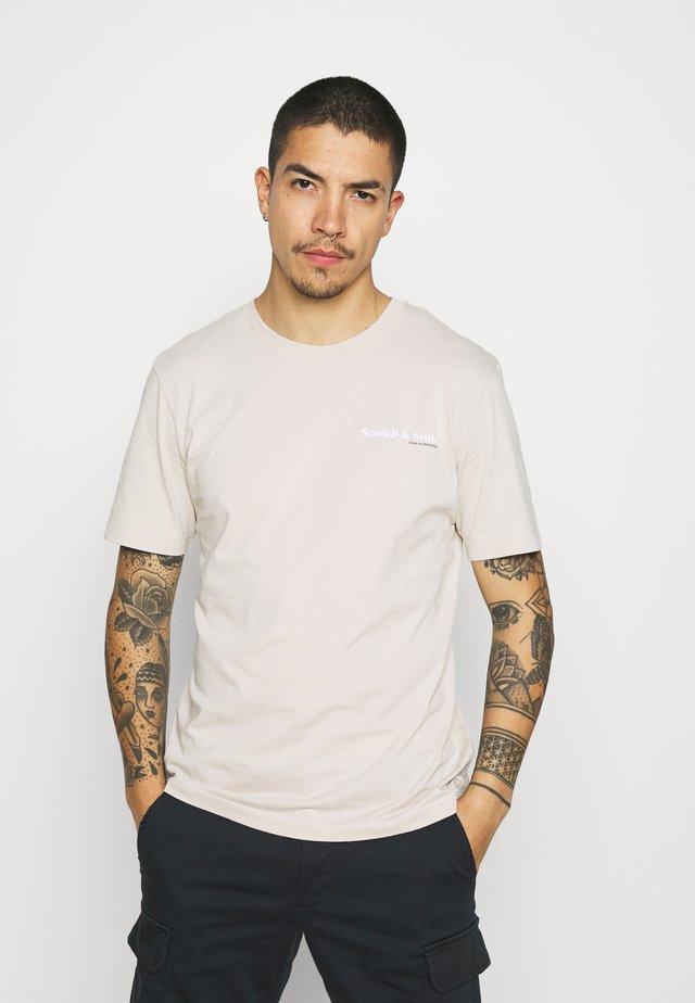 TEE UNISEX - T-shirt basic - stone
