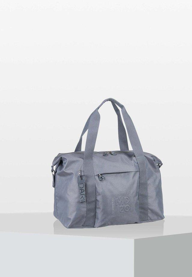 Weekend bag - gun metal