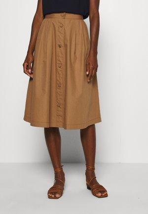 RIONE - A-line skirt - peanut