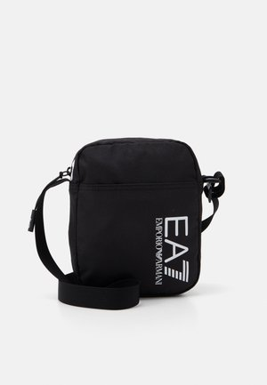 UNISEX - Across body bag - black/white