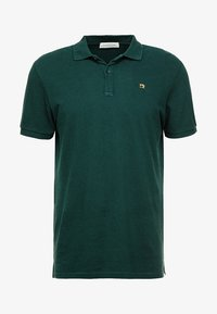 CLASSIC GARMENT  - Polo shirt - bottle green