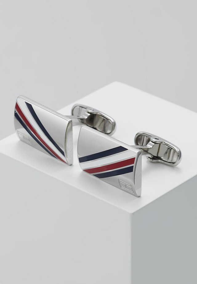DRESSED UP - Cufflinks - silver-coloured