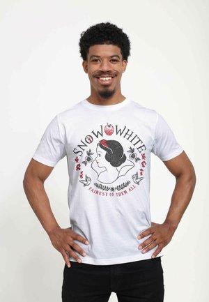 SNOW WHITE  - T-shirt print - white