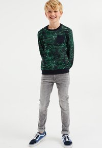 WE Fashion - MET DESSIN - Felpa - green - 0