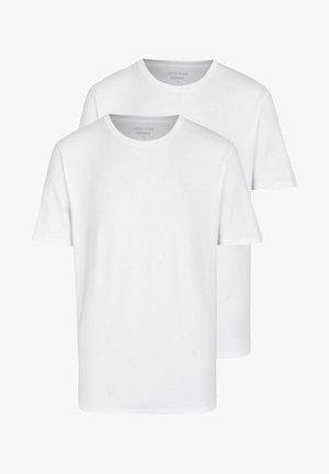 2ER PACK - Basic T-shirt - offwhite