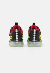 Skechers - ILLUMI-BRIGHTS - Trainers - black/lime//red - 2
