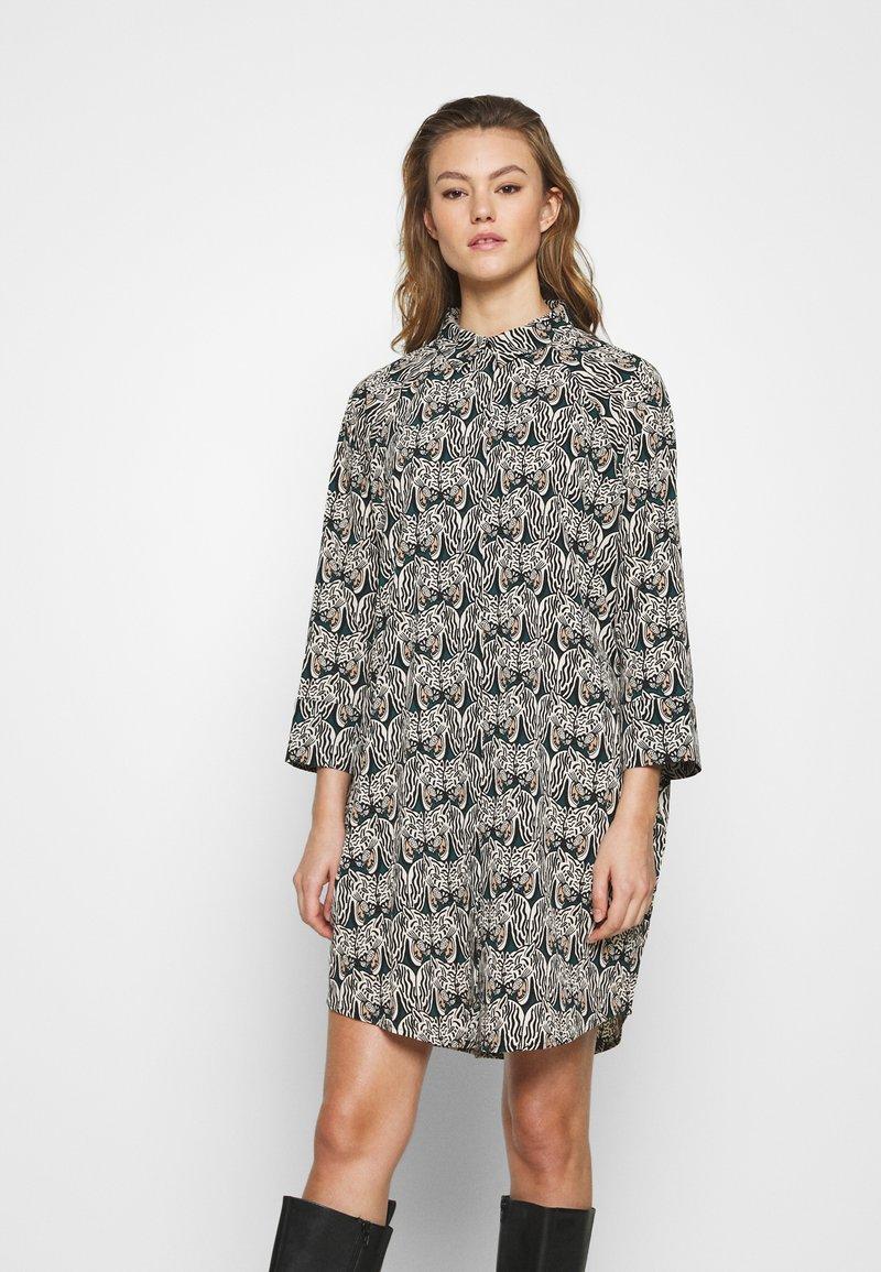 Monki - MOA RAGLAN - Shirt dress - multi-coloured