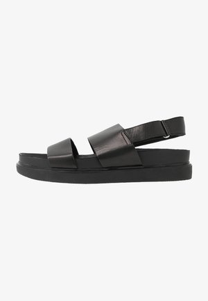 ERIN - Sandaalit nilkkaremmillä - black