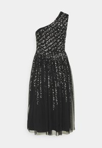 Maya Deluxe - ONE SHOULDER EMBELLISHED MIDI DRESS - Robe de soirée - black - 6