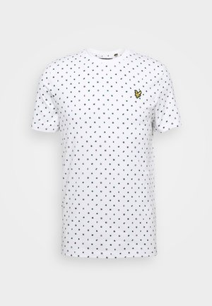 FLAG - Print T-shirt - white