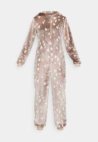 Loungeable - REINDEER LUXURY ONESIE ANTLER - Pyjama - brown - 4