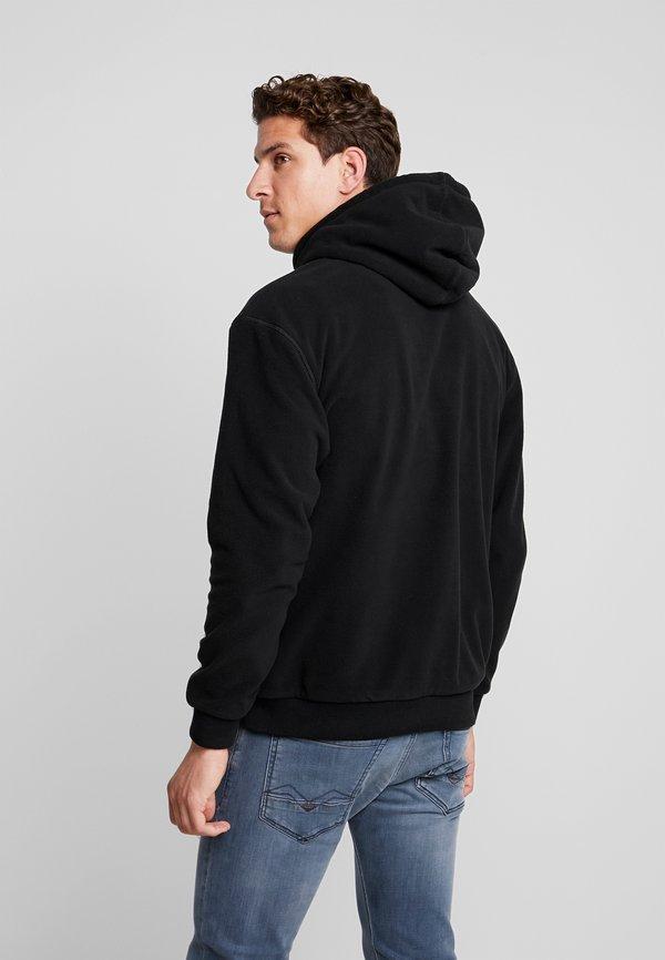Schott BILLY - Bluza z kapturem - black/czarny Odzież Męska PEYU
