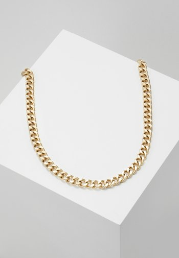 CHUNKY CHAIN NECKLACE - Necklace - gold-coloured