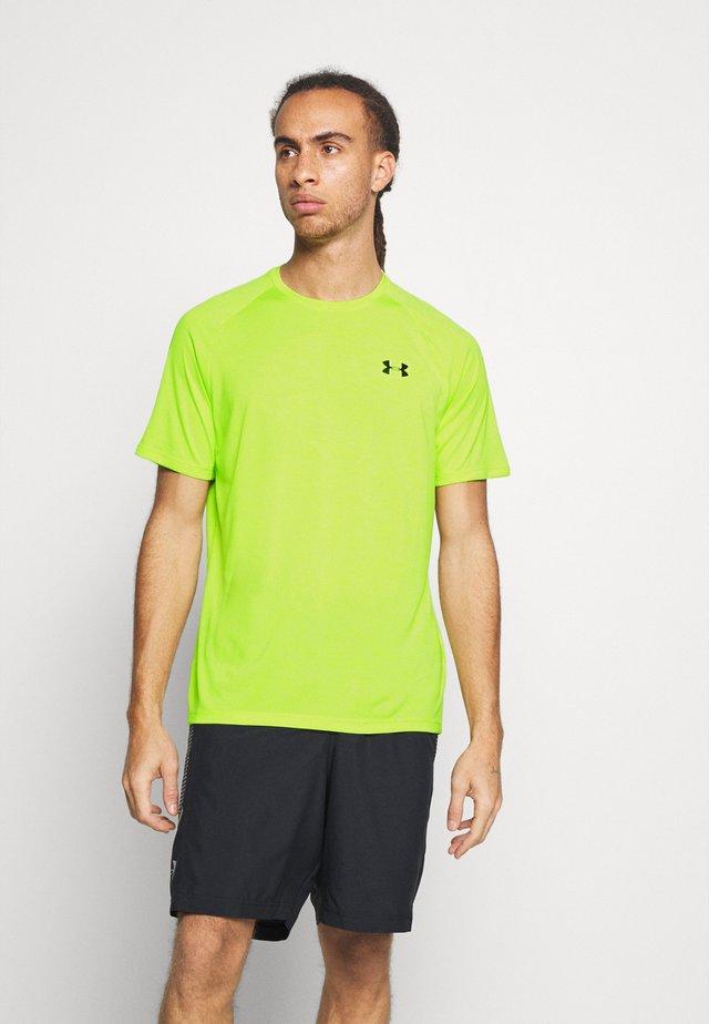 HEATGEAR TECH  - T-Shirt print - green citrine