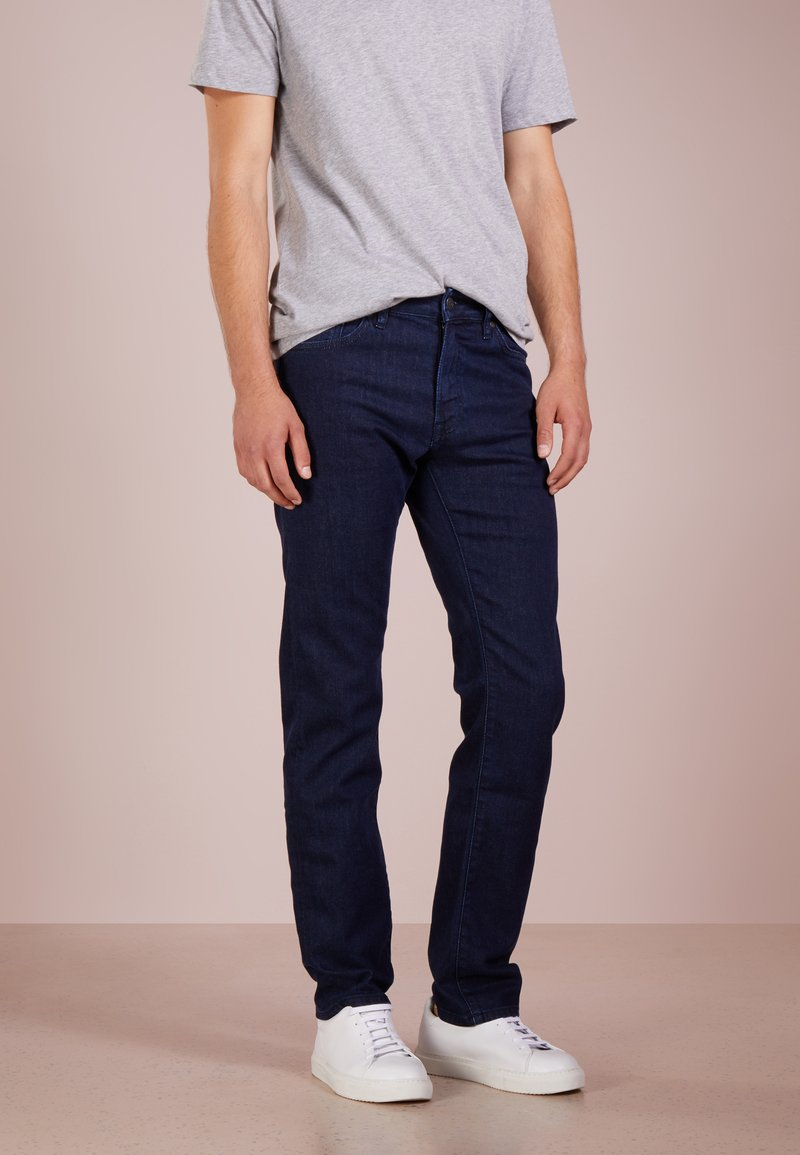 BOSS - MAINE - Straight leg jeans - navy