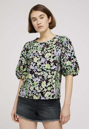 Blouse - flower print