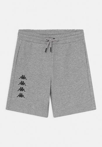 JULIO UNISEX - Pantalón corto de deporte - mottled grey