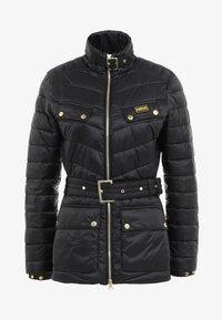 Barbour International - GLEANN QUILT - Light jacket - black - 4