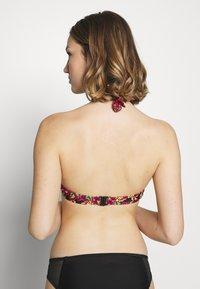 Pour Moi - HEATWAVE HALTER UNDERWIRED - Bikini top - black - 2