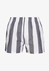 Pier One - Pyjamabroek - white/dark blue - 2